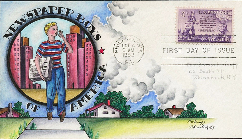1015  First Day Cover United States Postage stamps