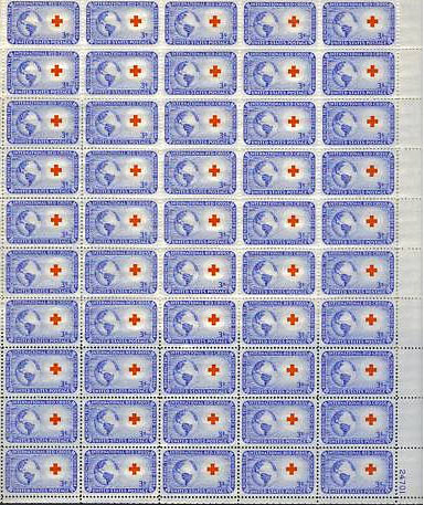 1016 pane Scotts - US Postage Stamps
