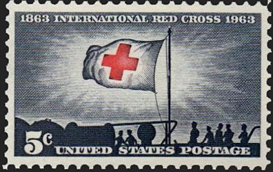 1239 Red Cross Scotts - US Postage Stamps