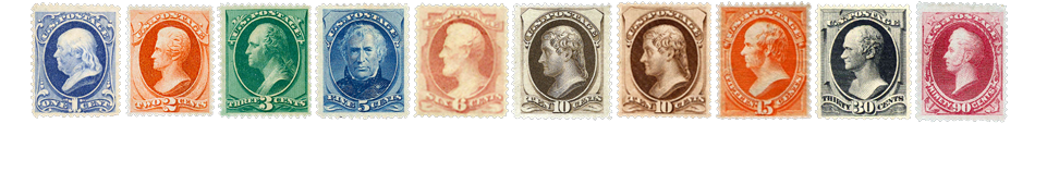 1879 US Postage Stamps