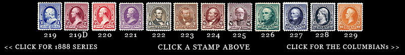 1890 US Postage Stamps