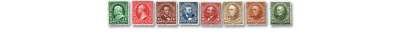 1898 US Postage Stamps