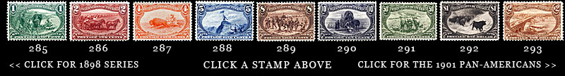 1898 Postage Stamps