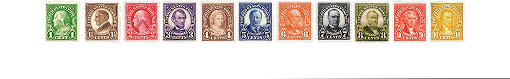 1926 US Postage Stamps