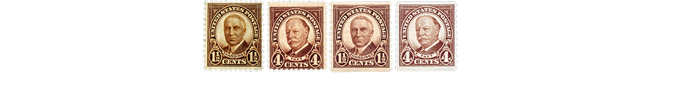 1930 US Postage Stamps