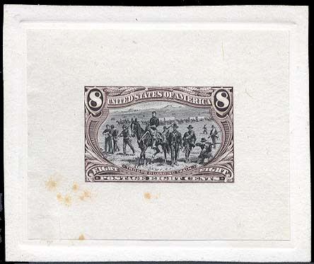 289-E8 United States Postage Stamps Essay