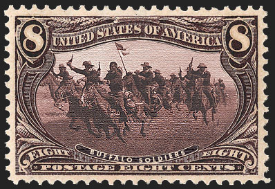 289-buffalo-soldiers-US Postage Stamps