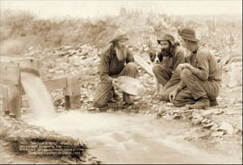 Gold Prospecters - Scotts - US Postage Stamps