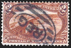 292 Heavy Cancel Scotts - US Postage Stamps
