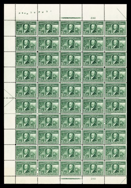 scotts 323 sheet  - US Postage Stamps