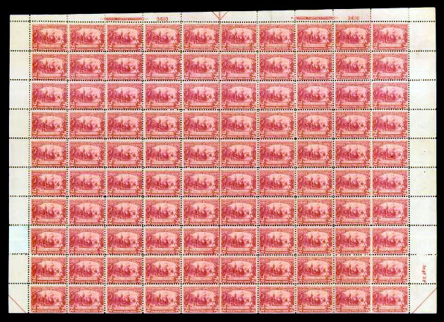 scotts 329 sheet  - US Postage Stamps