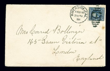 378 Scotts - earliest known stamp on cover US stamps