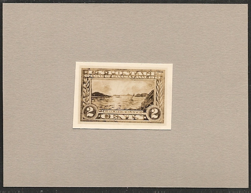 398-E1 Scotts - essay US stamps