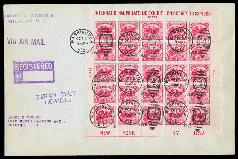 630 first day cover Scotts - US Postage Stamps