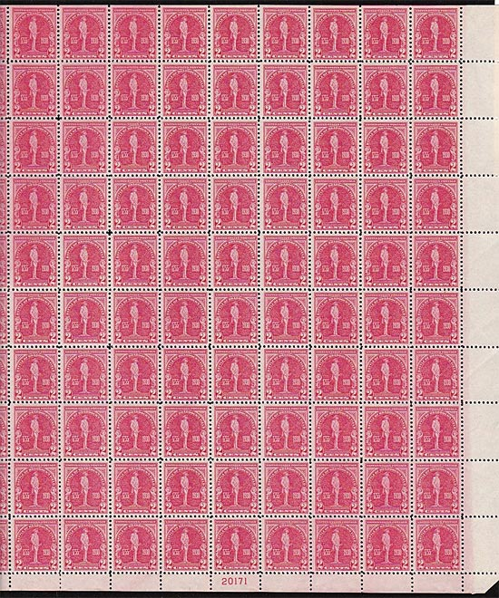 688 Sheet Scotts - US Postage Stamps