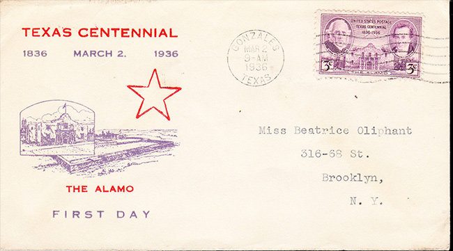 US stamp 776 fdc