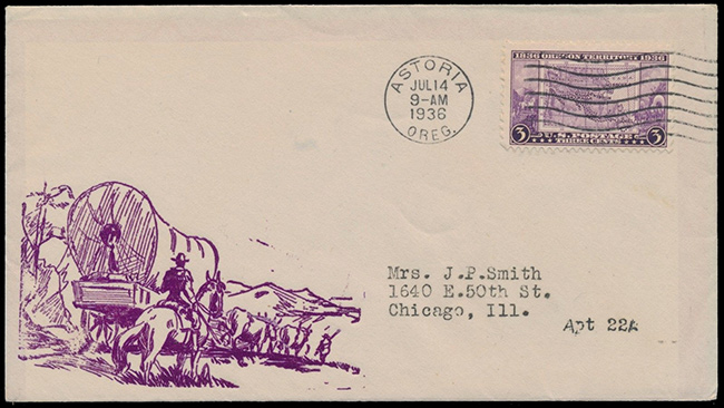 US stamp 783 first day cover fdc