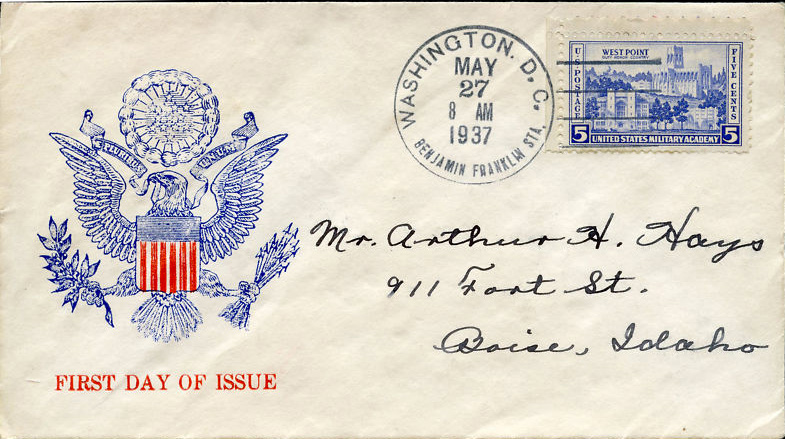 US stamp 789 first day cover fdc