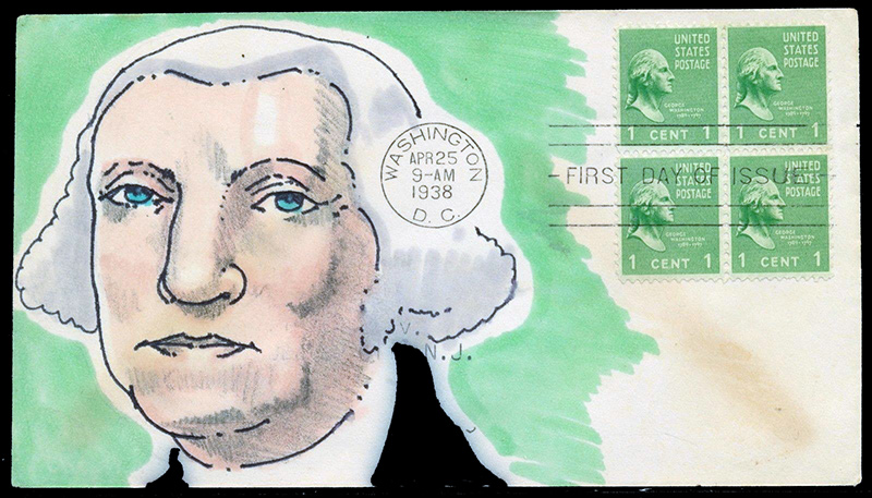 US stamp 804 first day cover fdc
