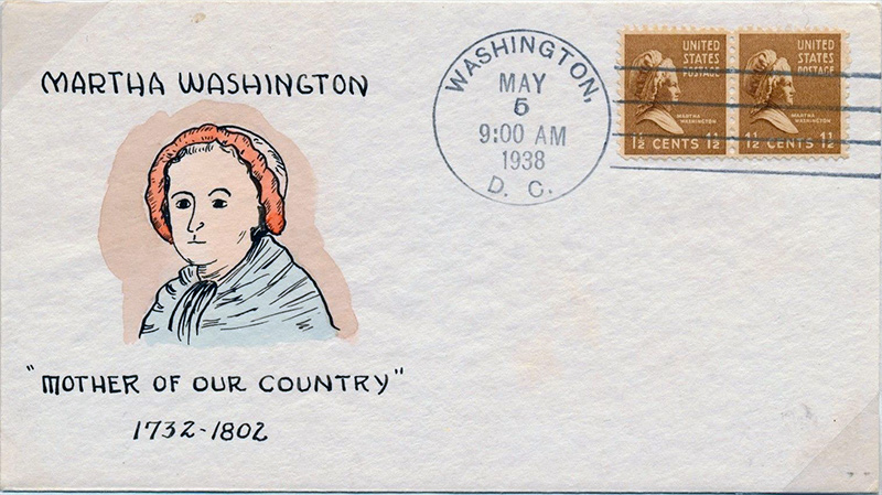 US stamp 805 first day cover fdc