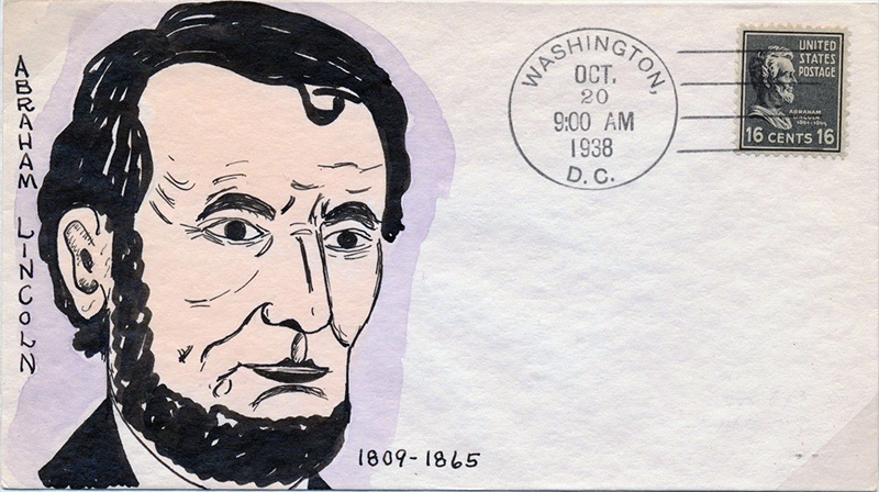US stamp 821 first day cover fdc