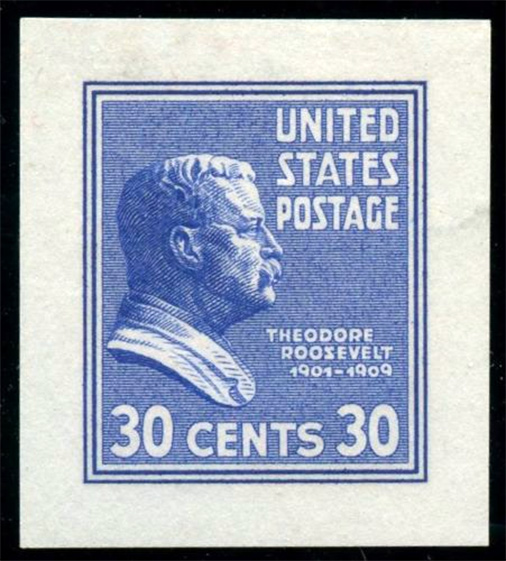 US stamp 830 proof