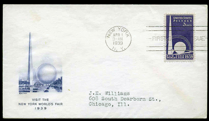 US stamp 853 first day cover fdc