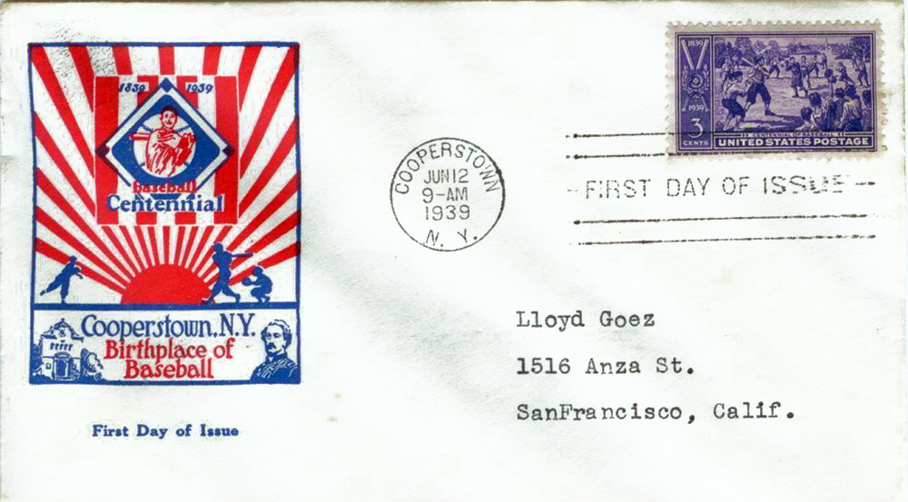 US stamp 855 first day cover fdc
