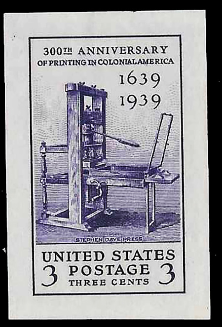 US stamp 857 proof