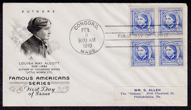 US stamp 862 first day cover fdc
