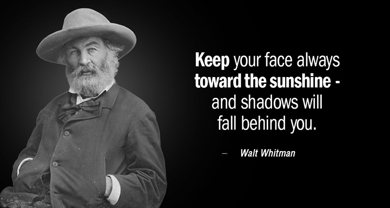 Walt Whitman US stamps