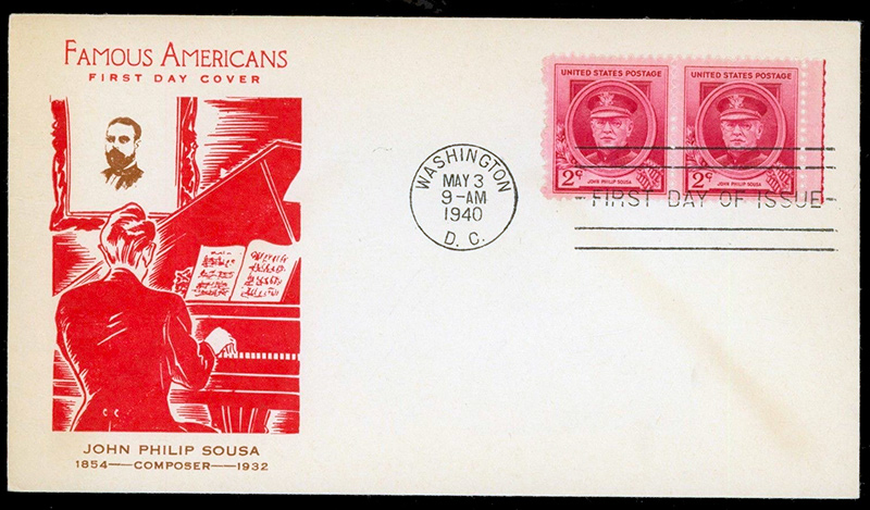 US stamp 880 first day cover fdc