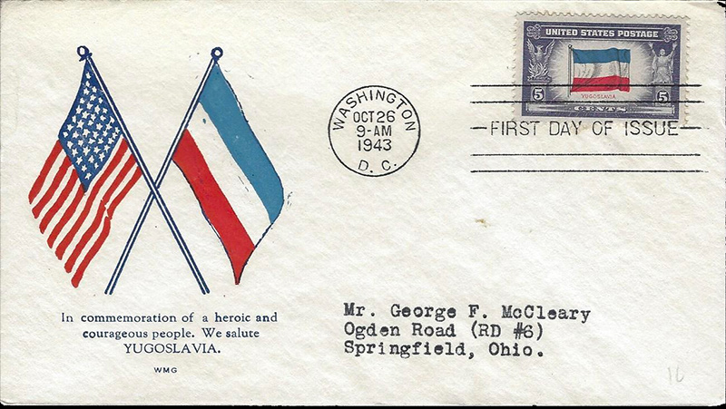 US stamp 917 first day cover fdc